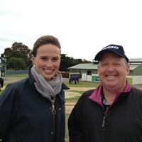 Francesca Cumani has a soft spot for Dandino