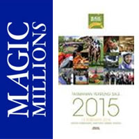 2015 Magic Millions Tasmanian Yearling Sale now online